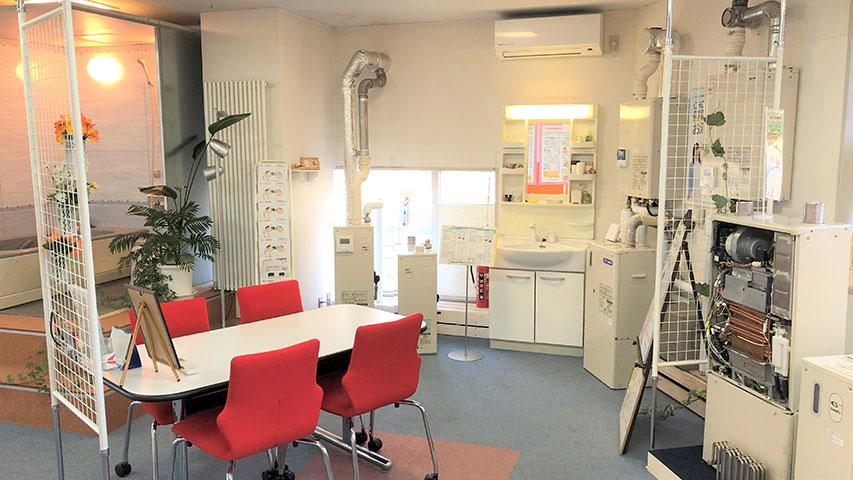 札幌支店ショールームの様子1